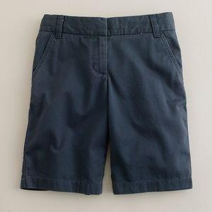 "JCREW 9"" chino Shorts Classic Twill Size 2"